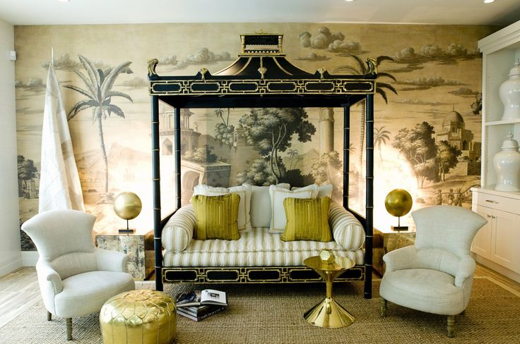 Jaw-Dropping Chinoiserie & Asian-Inspired Rooms | See 13 More on MotleyDecor.com