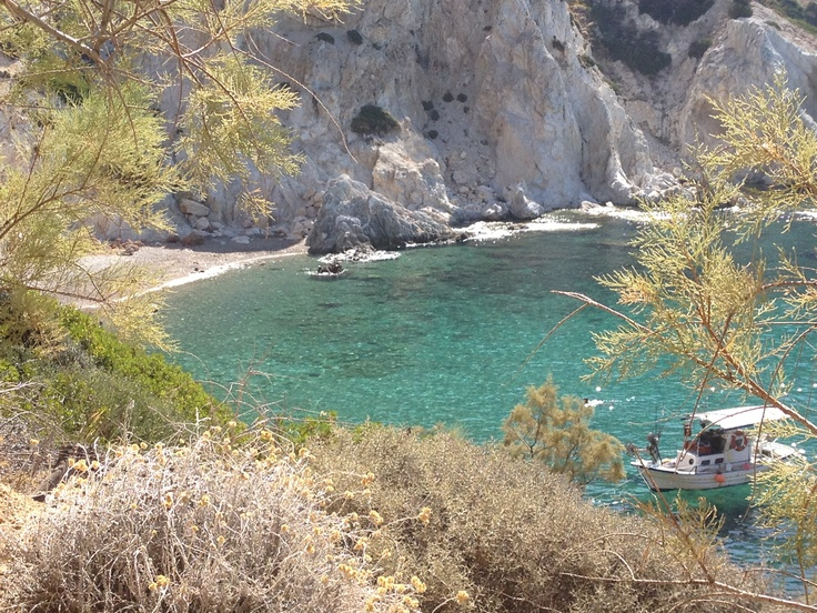 Chios - Greece   Vourlidia beach. Come on and see for yourself the beauty of Chios island.