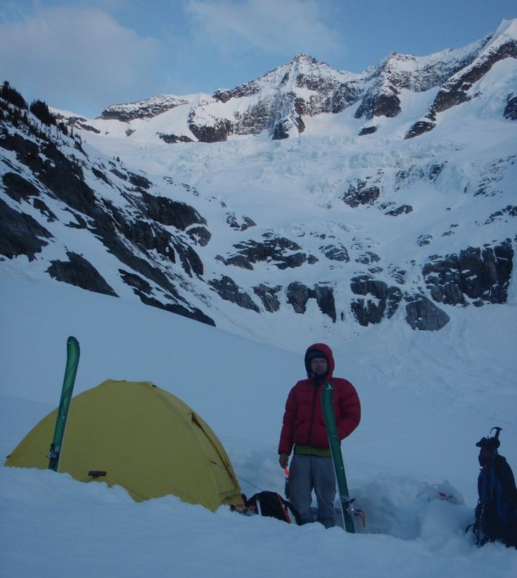 It's important to take into account your needs and what you plan to do with your product. With so many options available it can be overwhelming at first. But read on to help pick which option is best for you. Here Ian Nicholson and the Eldorado are camped below Forbidden Peak.