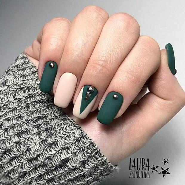 احدث الوان مناكير باستيل و بنفسجي و فضي و سماوي 2019 Latest Nail Polish Pastel Violet Silve October Nails Classic Nails Nails Design With Rhinestones
