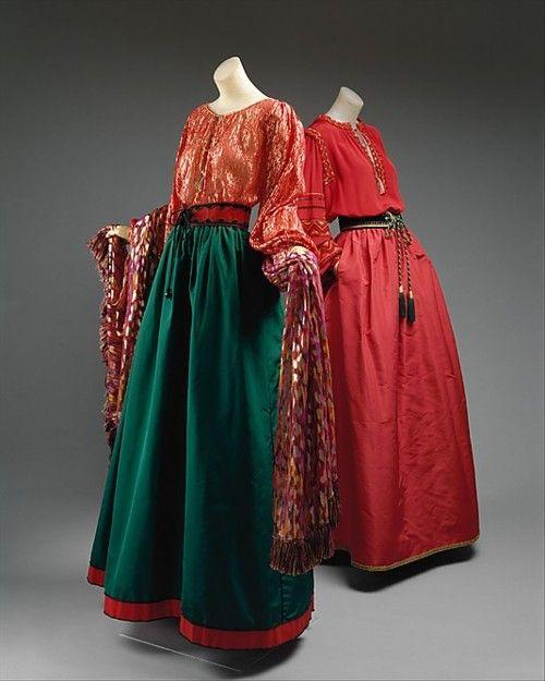thatdress:  Ensembles  Yves Saint Laurent, 1976  The Metropolitan Museum of Art