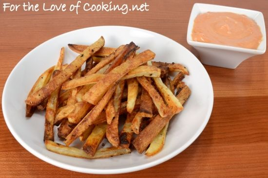 SEE RECIPE HERE: Oven Baked French Fries
