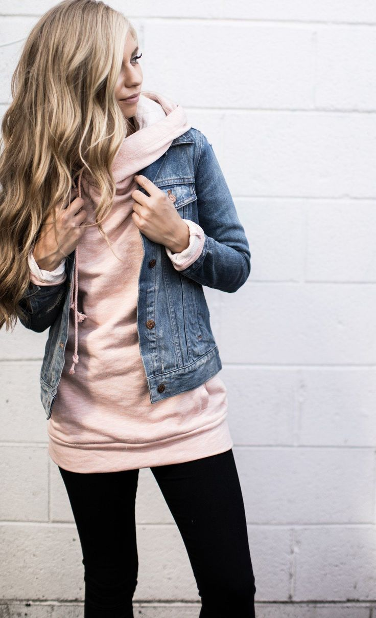 DoubleHood™ Sweatshirt - Blush #mindymaesmarket #dreamcloset #TweenFashionTren... 17