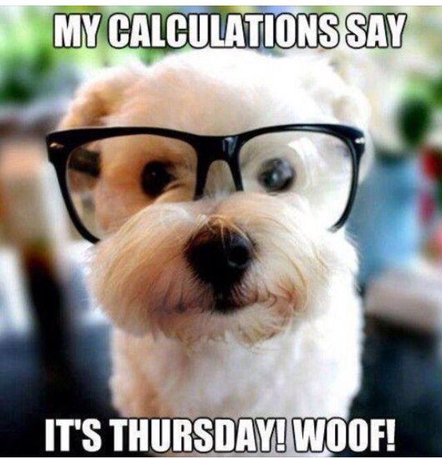 Happy Thursday More