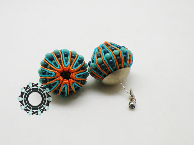 soutache earrings / kolczyki soutache Alina Tyro-Niezgoda Tender December