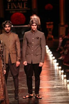 By designer Sabyasachi Mukherjee. Shop for your wedding trousseau, with a personal shopper & stylist in India - Bridelan, visit our website www.bridelan.com #Bridelan #Indiangroom #Sabyasachi