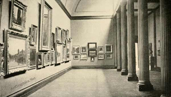 tate gallery, perspective and art