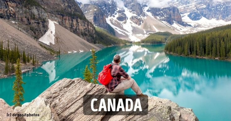 The citizens of this great country can take pride in the multitude of beautiful national parks, full of majestic rocky mountains and wide open spaces. You only have to look at these life-affirming vistas to understand why Canadians are such happy people.⛰