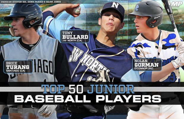 Top 50 high school baseball players in the Class of 2018 - MaxPreps