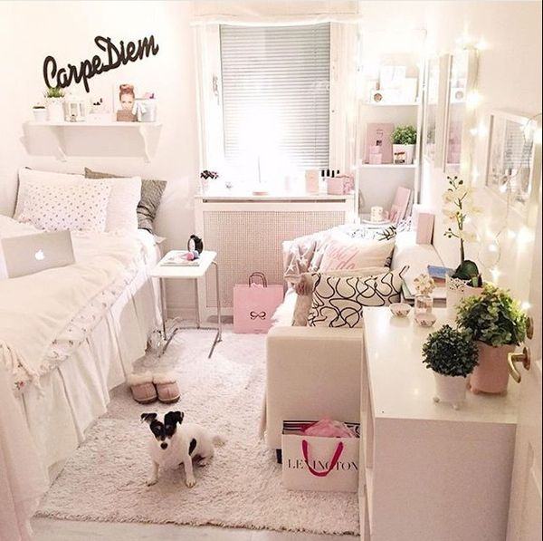 I M Looking For Pastel Pink White Gold Room Decor Bedspreads