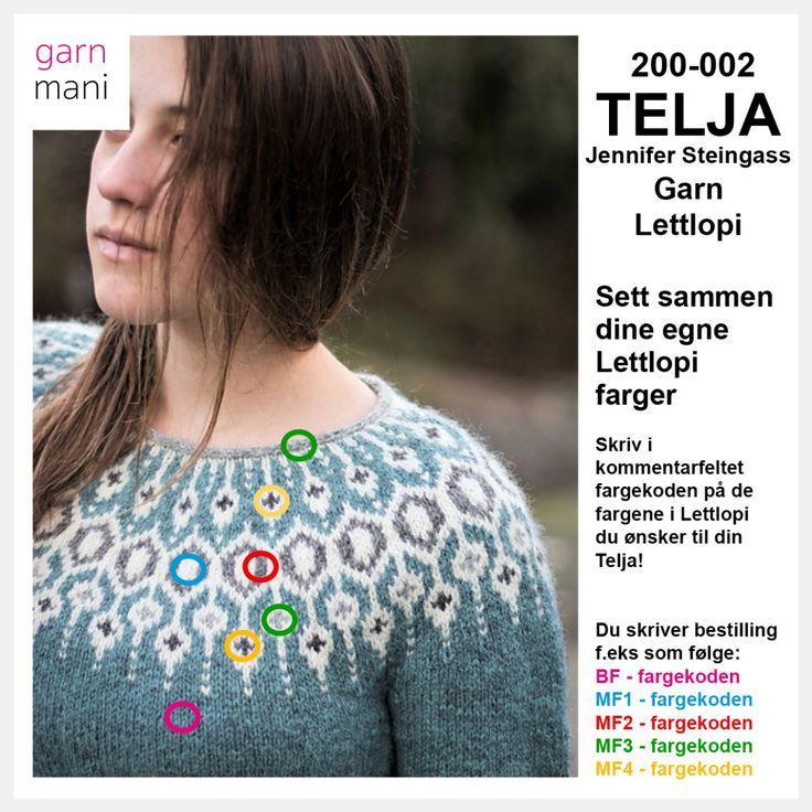 200-002 TELJA - Lettlopi