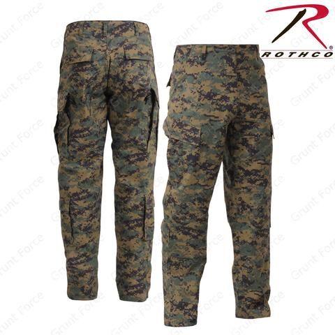Rothco Woodland Digital Army Combat Uniform Pants - Men s Military Field  Pant 5787e2046e0