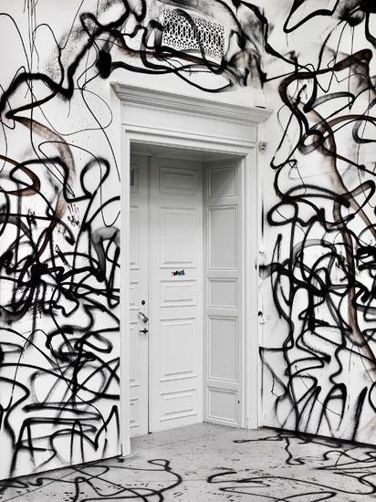 Door + Spray Paint
