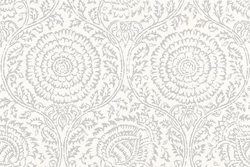 Kamala  Silver wallpaper by Baker Lifestyle