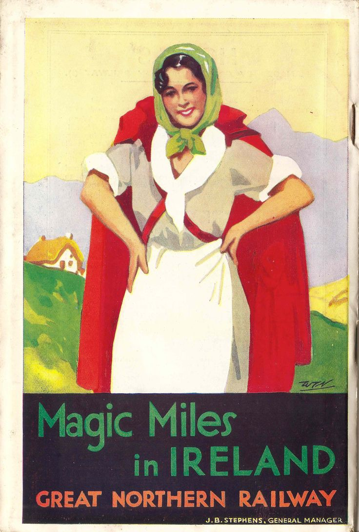 Más tamaños | Magic Miles in Ireland - Great Northern Railway brochure, 1938 | Flickr: ¡Intercambio de fotos!