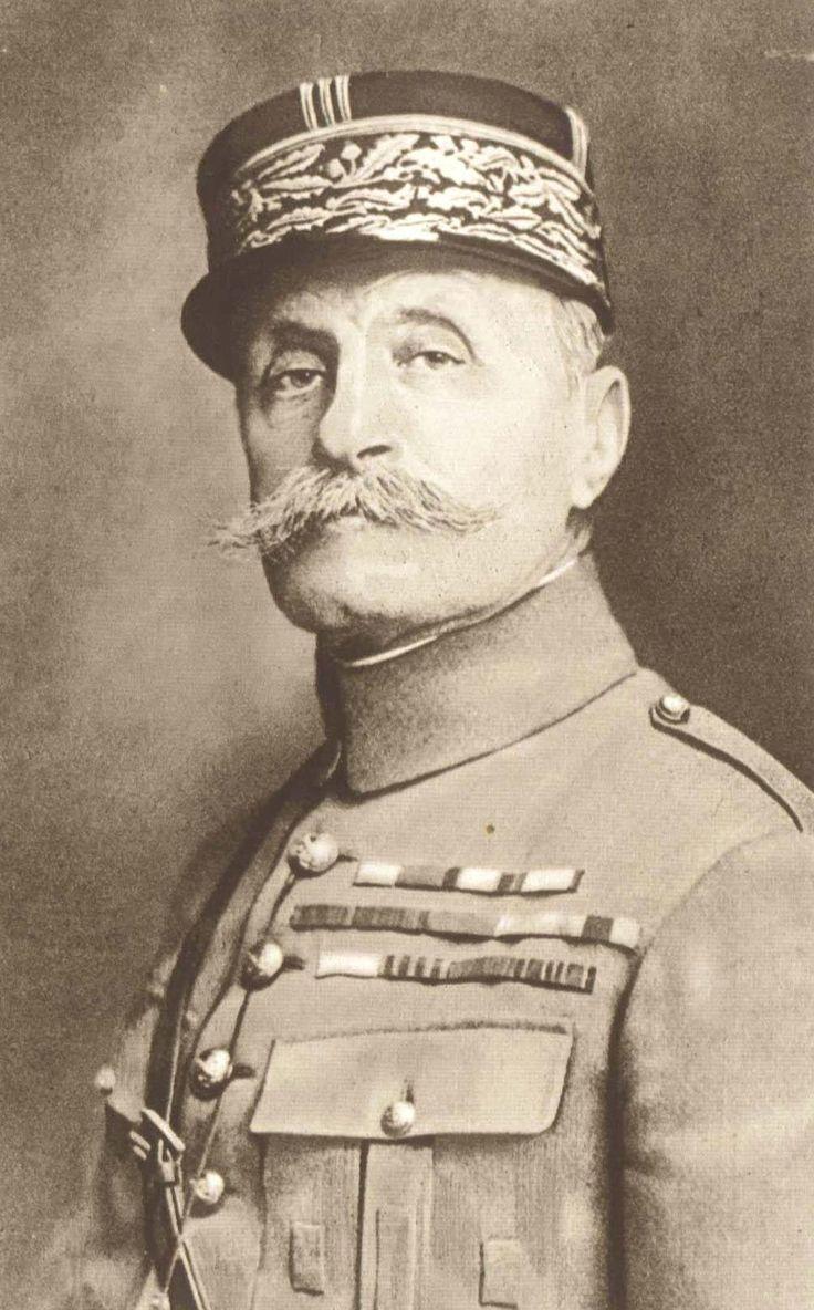 French Field Marshal Ferdinand Foch