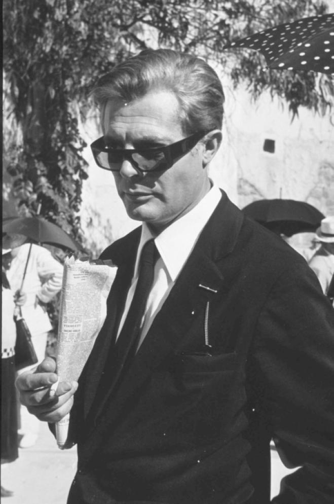 """Marcello Mastroianni in """"8 1/2"""", 1963"""