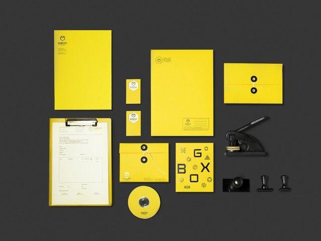 Gbox Studios Branding by Bratus12