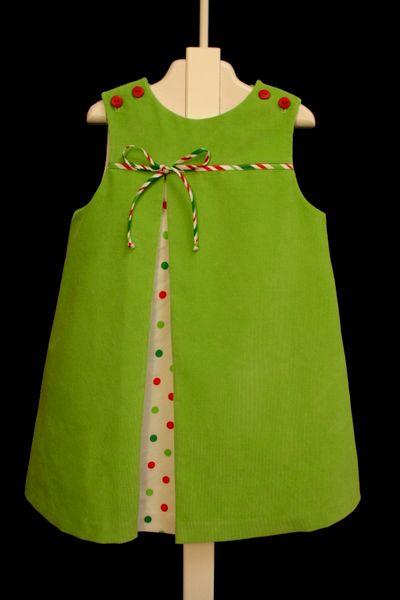 "Bridget Anderson's ""Christmas Surprise"", Lucy A-Line - Farmhouse Fabrics, LLC"