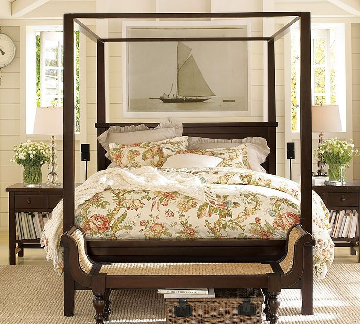 83 best tropical british colonial decor images on for Tropical canopy bed