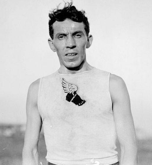 Albert Corey France 1904 medaille d'argent du marathon
