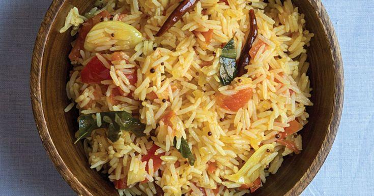 Indian Tomato Rice Recipe | SAVEUR