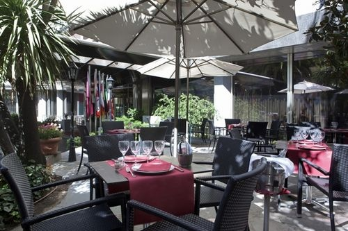 Hotel Husa Princesa - Also offered is a beautiful outdoor garden terrace