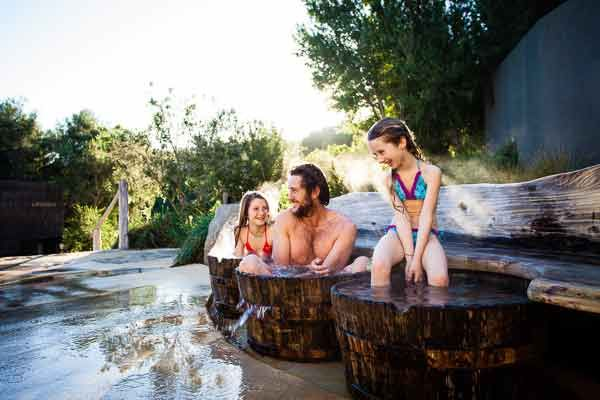 Peninsula Hot Springs, the only natural thermal mineral springs bathing and day spa facility in Australia - Mornington peninsula, Victoria - (3500 km from Perth)