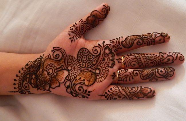 Fancy Easy Dulhan Mehndi Designs