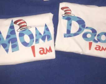 Dr. Seuss Birthday Shirt Personalized Front by LittlePersonalTouch