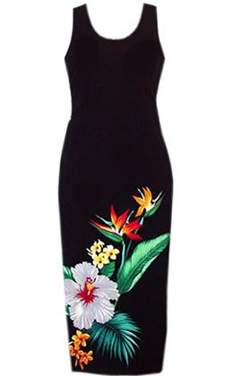 Tropic Hawaiian Dress