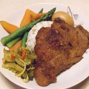 Pai Gu Fan Taiwan pork chop 排骨飯