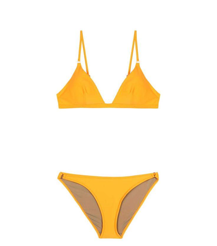 Orangefarbener Bikini Tangiers