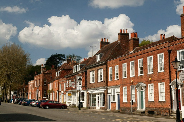 Farnham Castle Street by Hidden Britain South East, via Flickr