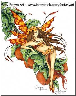 Fairy Art by Amy Brown - Summer Blossom