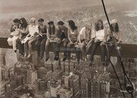 Lunch Atop a Skyscraper With Women