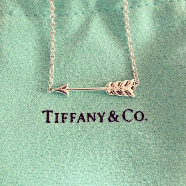 Tiffany's Pi Beta Phi arrow necklace #piphi #pibetaphi