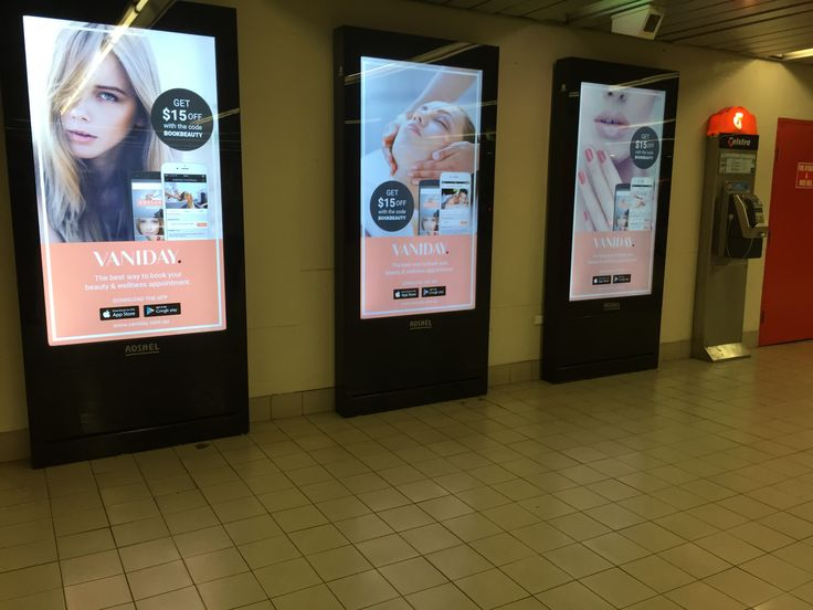 We love some clever advertising placement. Like this for our client @vaniday.au