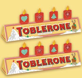Toblerone Adventskranz 400g