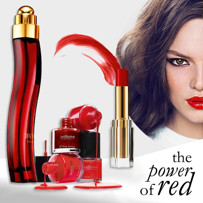 Just Hot Red! http://my.oriflame.pt/cascaisoriflame