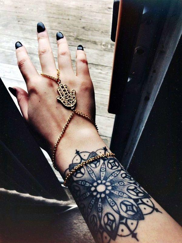 45 Purposeful Mandala Tattoo Designs For Women - Page 2 of 3 - Latest Fashion Trends