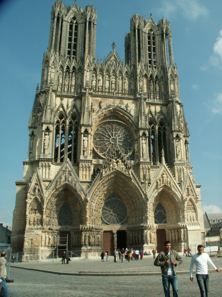 17 best images about reims cathedral on pinterest for Architecture fr
