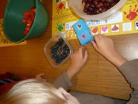 Literacy and Laughter - Celebrating Kindergarten children and the books they love: Cooking in Kindergarten: Roll a Bowl of Fruit Salad