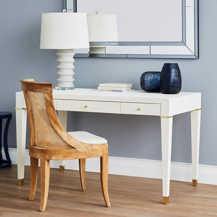 Bungalow 5 Claudette Desk   White