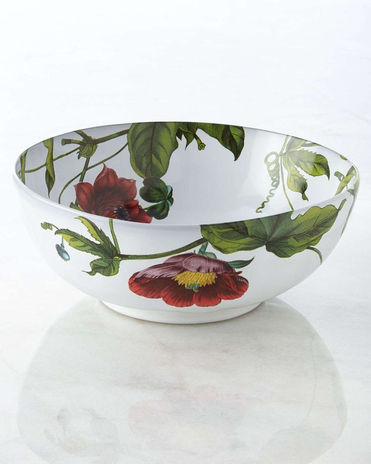 "Ceramic stoneware bowl. 10""Dia. x 4""T; holds 2.5 quarts. Oven, microwave, dishwasher, and freezer safe. Made in Portugal."