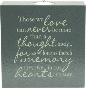 Those We Love - Tealight Candle                              …                                                                                                                                                                                 More