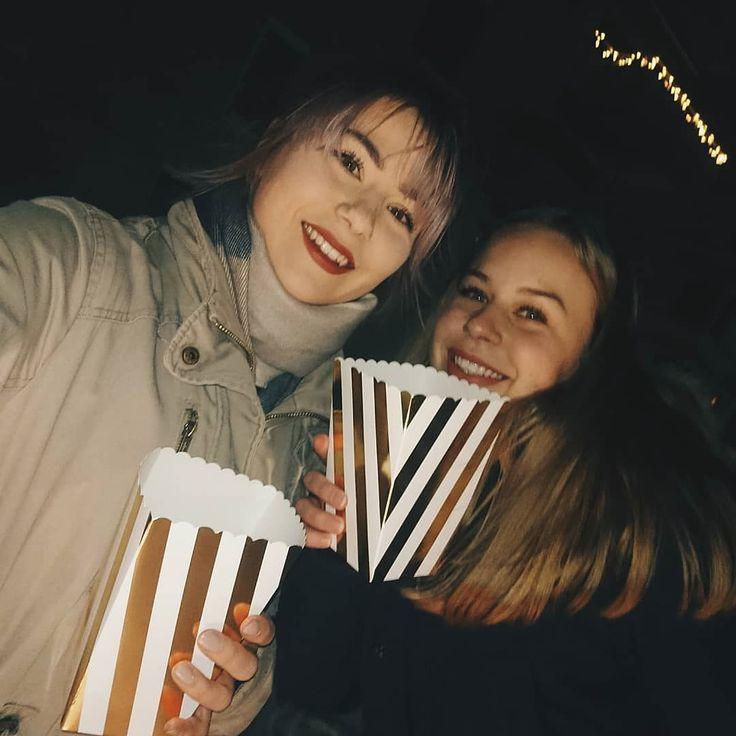På tur med popcorn