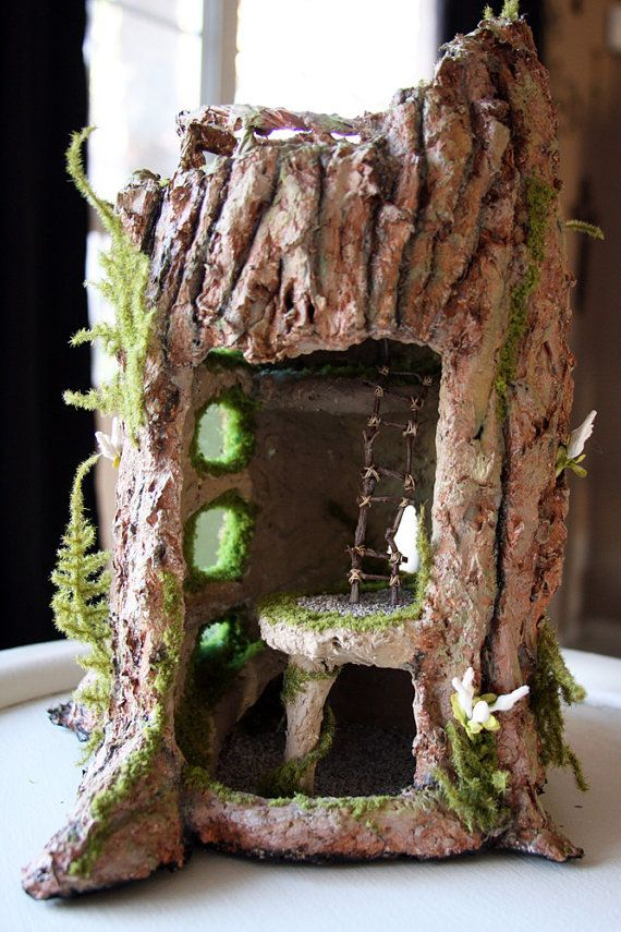 65 Best Paper Mache Houses Images On Pinterest Fairy
