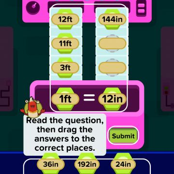 Zap Zap Math offers a wealth of free math practice at grade levels from K to 6, with even more possibilities available through an annual subscription.