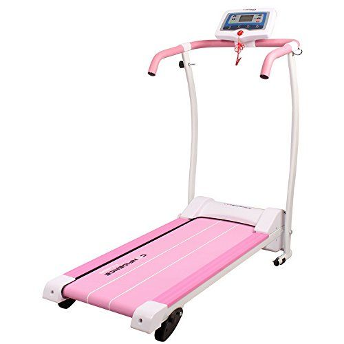 Confidence Power Trac Pro 735W Motorized Electric Folding Treadmill Running Machine Pink with 3 Manual Incline Settings - http://physicalfitnessshop.com/shop/confidence-power-trac-pro-735w-motorized-electric-folding-treadmill-running-machine-pink-with-3-manual-incline-settings/ http://physicalfitnessshop.com/wp-content/uploads/2018/03/f9a8d4d1553f.jpg